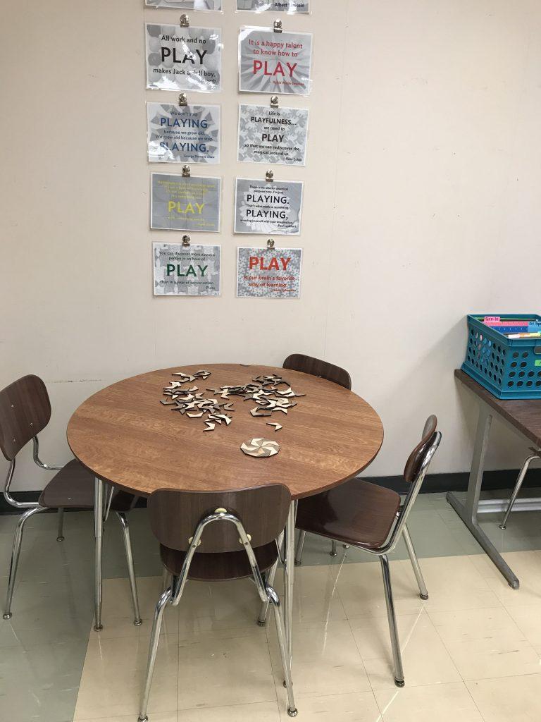 A peek inside my classroom space - Sara VanDerWerf